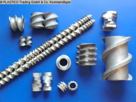 Alphatec Schnecken - screw elements