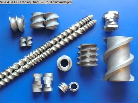 Alphatec Schnecken - screw elements